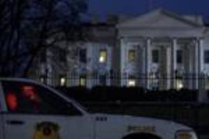 Small drone flies onto White House grounds and lands in the night