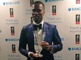 didier drogba honoured by football writers' association as jose mourinho hails striker