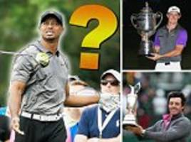 forget the missing tooth... here are five questions tiger woods must answer to prove that he can win a major title again