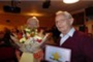 Wimborne MovieMakers recognises David Barnes' 50 years of service