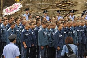 Sexual Scandal, Suicide, and Murder at Chinese Prison
